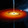 Icon: black hole (image NASA)