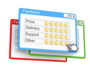 Rating online sellers