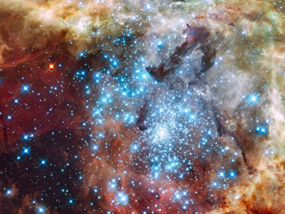 A Hubble image