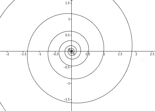 A full logarithmic spiral