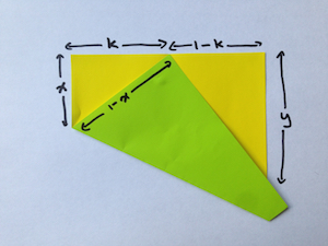 Folding any fraction