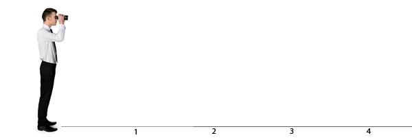 An infinite line