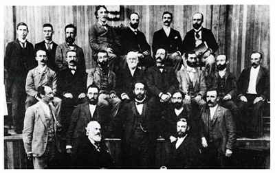 A picture from the zeroeth ICM in Chicago, 1897
