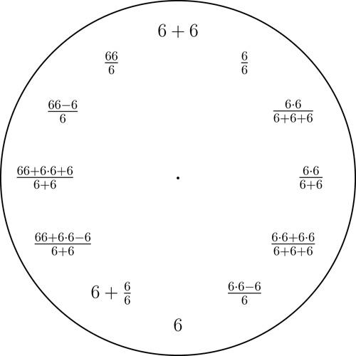 6 clock