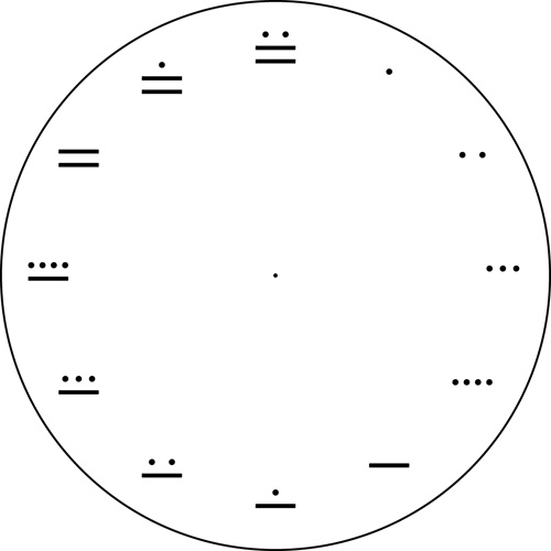 Мая цифри часовник