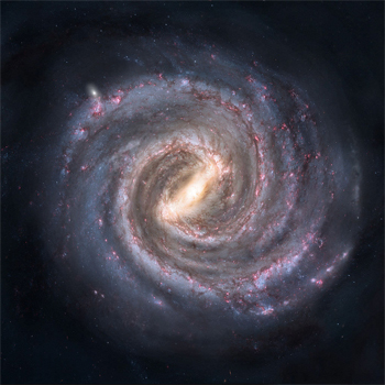 spiral milky way