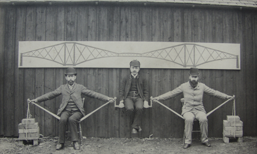 The principles behind the Forth Bridge