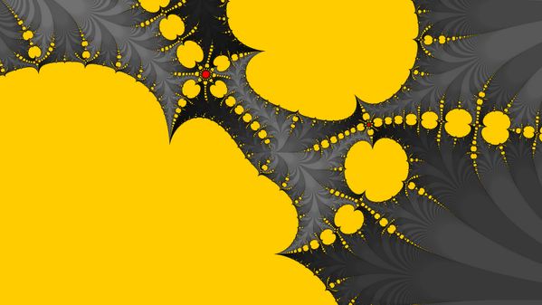 Germany's 7-1 victory over Brazil in fractal form