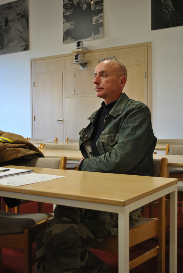 Grenville Davey, at the Isaac Newton Institute