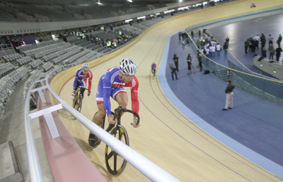 The London velodrome