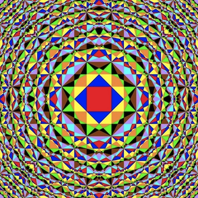 Brillouin zones of a crystal
