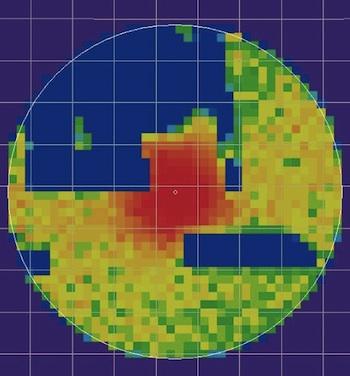 Posterior probability distribution