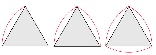 A Reuleaux triangle