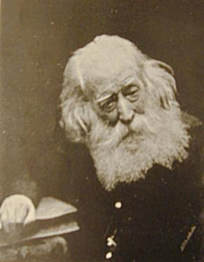 "A photograph of Henry Perigal (who was once called ""the venerable patriarch of the London scientific societies"") towards the end of his life, from the frontispiece of his brother's memoir."