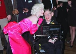 [IMAGE: Marilyn and Hawking]