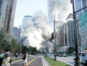 World Trade Centre collapse