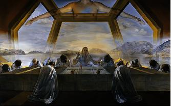 Sacrament of the Last Supper, by Salvador Dali