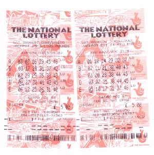 UK lottery ticket