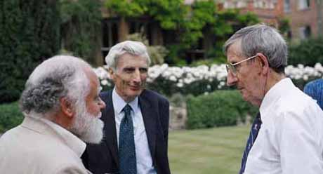 Freeman Dyson and Martin Rees