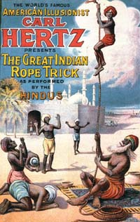 The real Indian rope trick