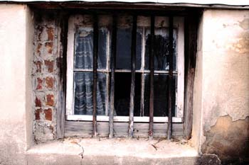 Image: barred windows