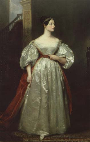 Ada Lovelace, aged about 19