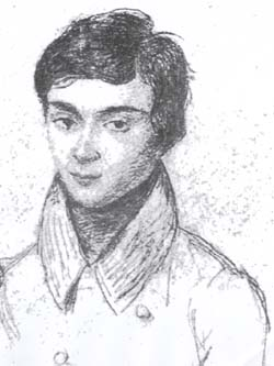 The young Evariste Galois
