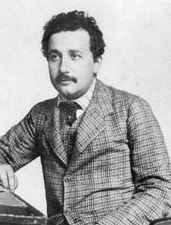 Albert Einstein around 1905.