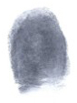 This blurred fingerprint is all the police may find.