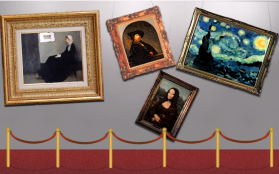 Figure 12: Paintings which aren't straight