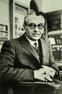 Portrait of Kurt Gödel