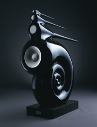 Figure 3: The Nautilus loudspeaker