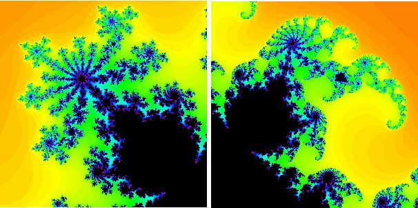 Decorations of the Mandelbrot set