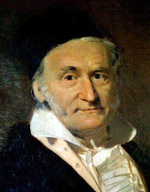 Portrait of Gauss
