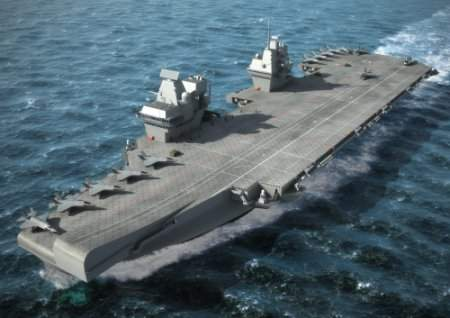 A future aircraft carrier