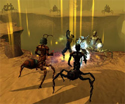 Computer games such as <i>Doom 3</i> and <i>Neverwinter nights</i> feature sophisticated graphics.