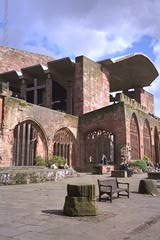 Old and new aspects of Coventry Cathedral.