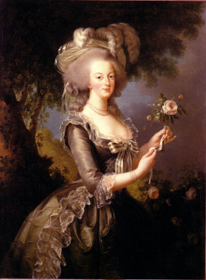 Marie Antoinette requires a century offset of +4.