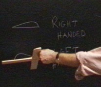 Figure 1: A right handed boomerang