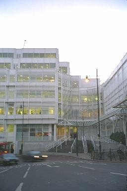Eidos's offices in Wimbledon