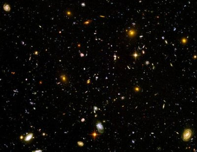 A Hubble view of the early Universe.
