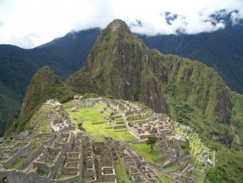 Photograph of Machu Picchu