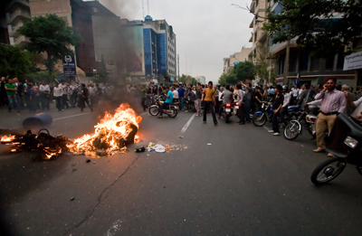 Protests in Teheran