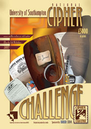 cipher challenge poster