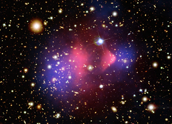 Dark matter in the Bullet Cluster