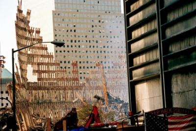 World Trade Centre rubble