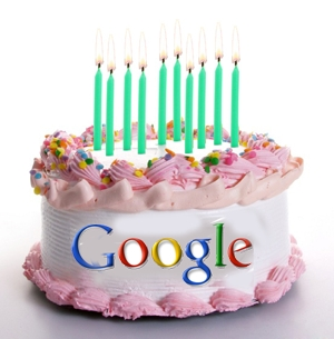 gefeliciteerd google Happy 10th birthday Google! | plus.maths.org gefeliciteerd google
