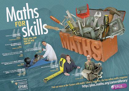 Maths for skills - the poster