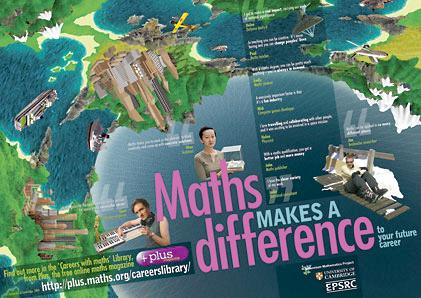 Maths makes a difference - the poster